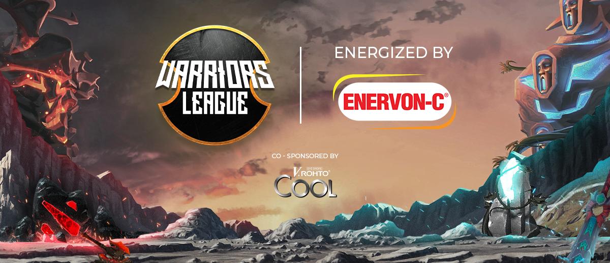 Warriors League Dota 2 Online Tournament Banner Image